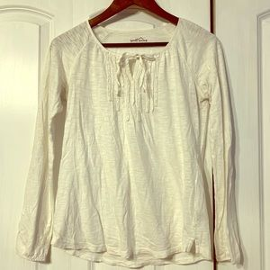 Eddie Bauer Long Sleeve Blouse, size small